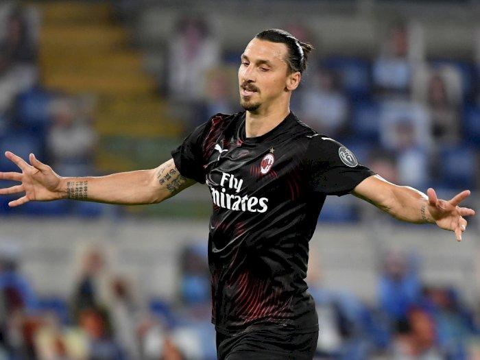AC Milan Ingin Perpanjang Kontak Zlatan Ibrahimovic