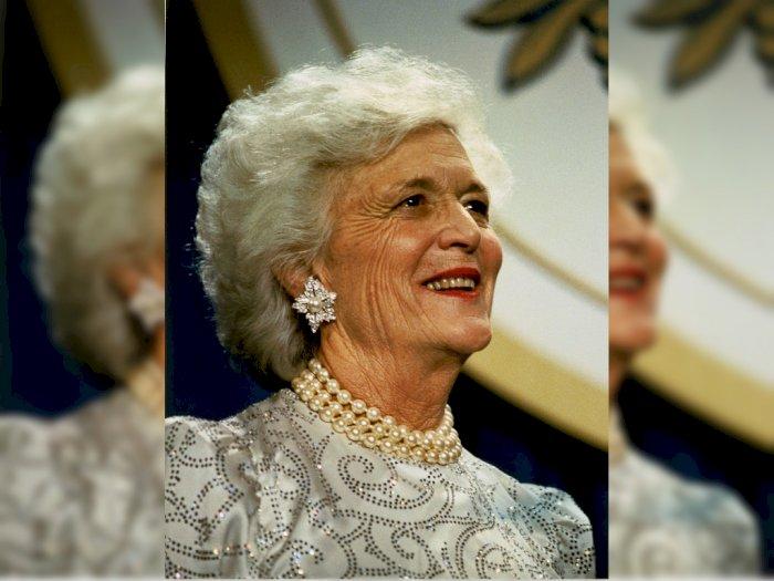 Barbara Bush, Wanita Dibalik Dua Presiden Amerika Serikat