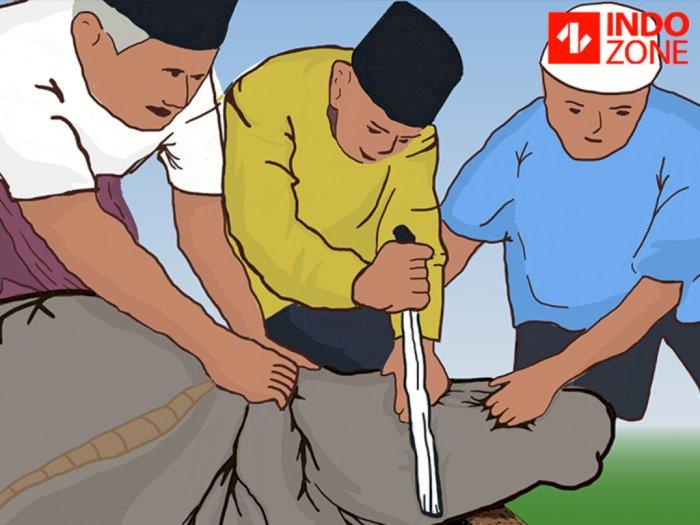 Kisah Ustadz Meninggal Saat Sembelih Hewan Kurban, Sempat Pimpin Salat Idul Adha