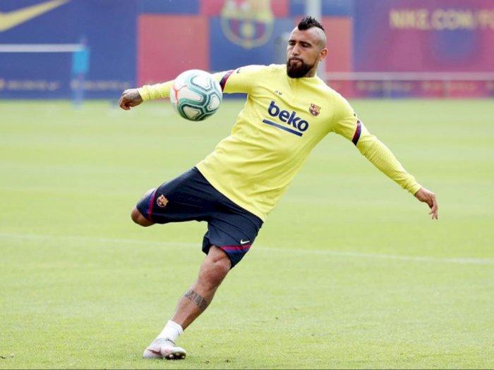 Vidal Tepis Kabar Tinggalkan Barcelona