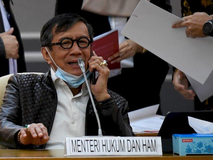 Yasonna Bantah Rumor yang Sebut Ada 'Orang Istana' Minta Akhyar Mundur di Pilkada Medan