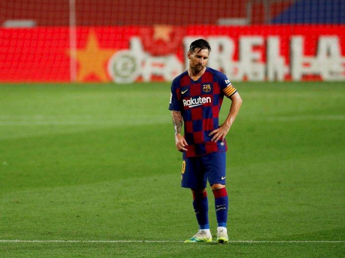 Siap Bajak Messi dari Barcelona, Inter Siapkan Kontrak Rp4,5 Triliun