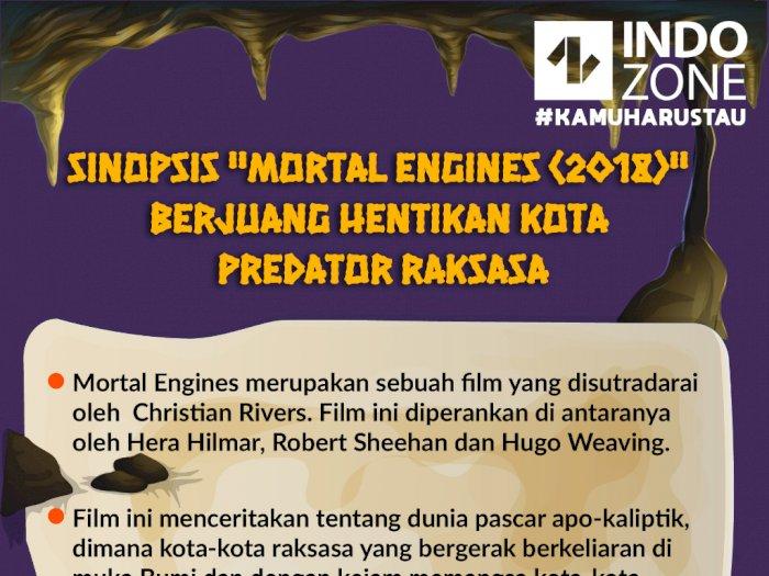 """Sinopsis """"Mortal Engines"""" Berjuang Hentikan Kota Predator Raksasa"""