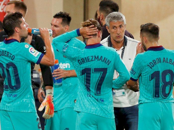 Vidal Ingin Barcelona Menentukan Masa Depan Setien