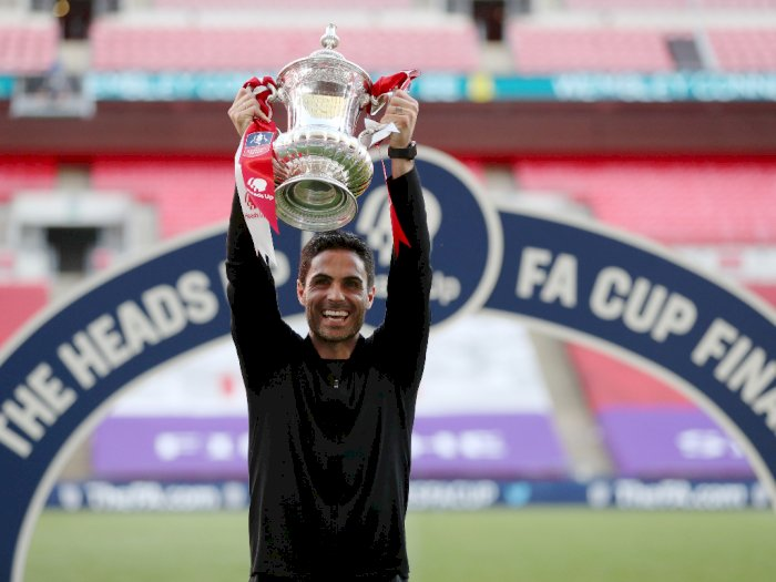 Trofi Piala FA Jadi Awal yang Bagus Untuk Arsenal