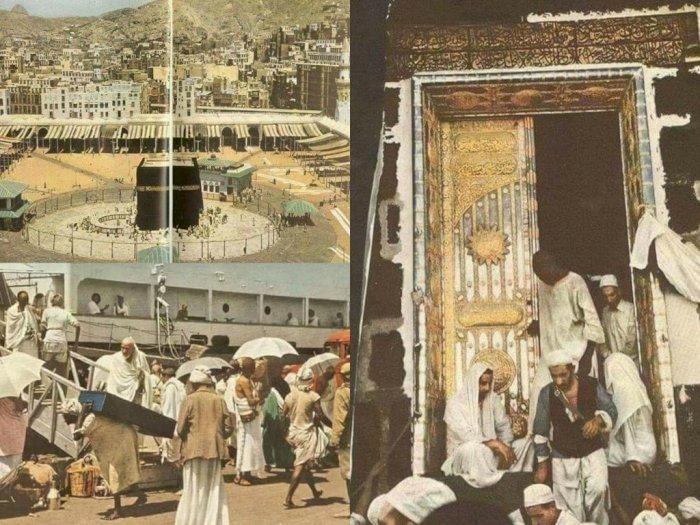 Potret Mekkah Tahun 1953 Ini Sukses Bikin Kangen Umroh dan Haji