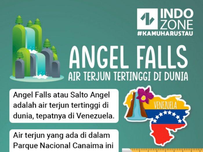 Angel Falls, Air Terjun Tertinggi di Dunia
