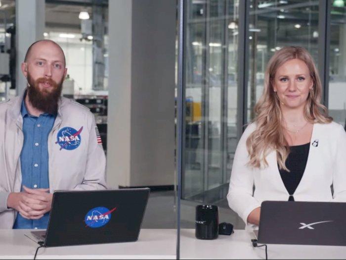 Momen Insinyur SpaceX yang Menangis Usai Pemulangan Crew Dragon ke Bumi
