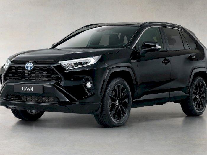 Dipasarkan di Eropa, Ini Spesifikasi Toyota RAV4 Hybrid 'Black Edition'!