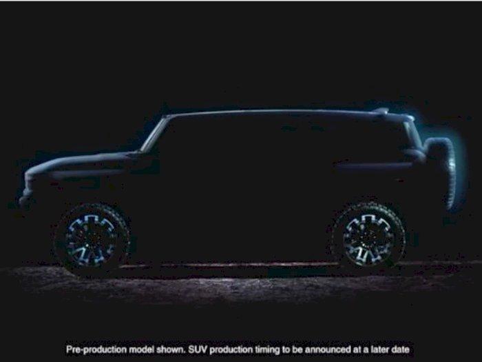 GM Pamerkan Teaser Hummer EV Terbaru, Dirilis Tahun Ini?