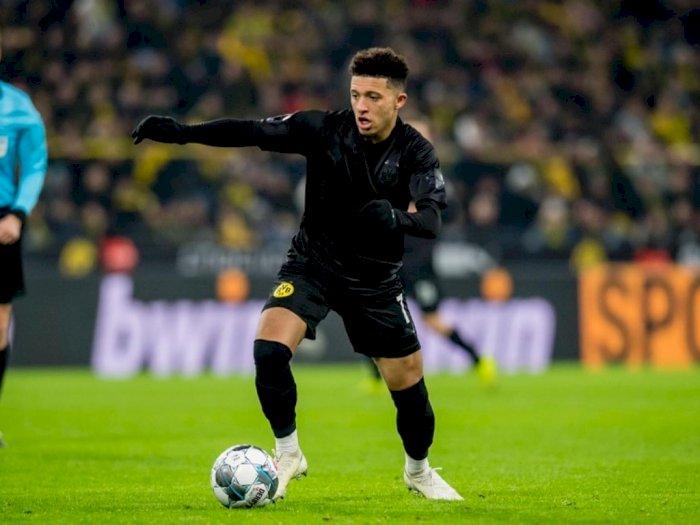 Borussia Dortmund Masih Belum Rela Pisah dengan Jadon Sancho
