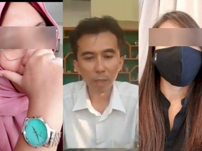 Inilah Sederet Wanita Cantik Korban Pelampiasan Fantasi Seks Swinger Dosen Bambang Arianto
