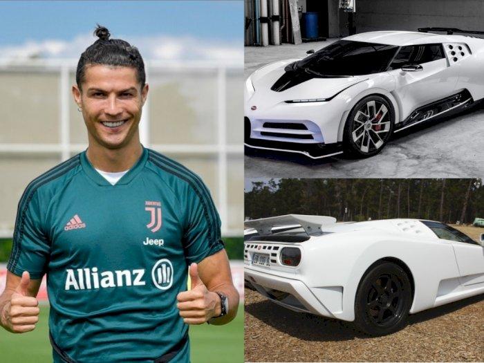 Intip Mobil Baru Bugatti Milik Ronaldo, Harganya Bikin Melongo