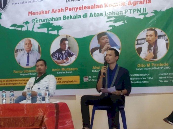 Konflik Kwala Bekala di Lahan PTPN II, GMKI Dorong Penyelesaian Melalui Hukum Pertanahan