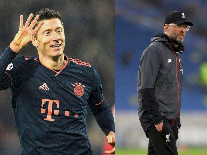 Robert Lewandowski pada Jurgen Klopp: Dia Sosok Ayah Sekaligus Pelatih