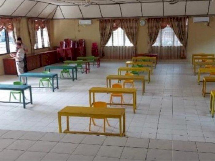 Bantu Siswa Terkendala Internet, Polres Nias Sediakan Ruang Belajar dengan Fasilitas Wifi