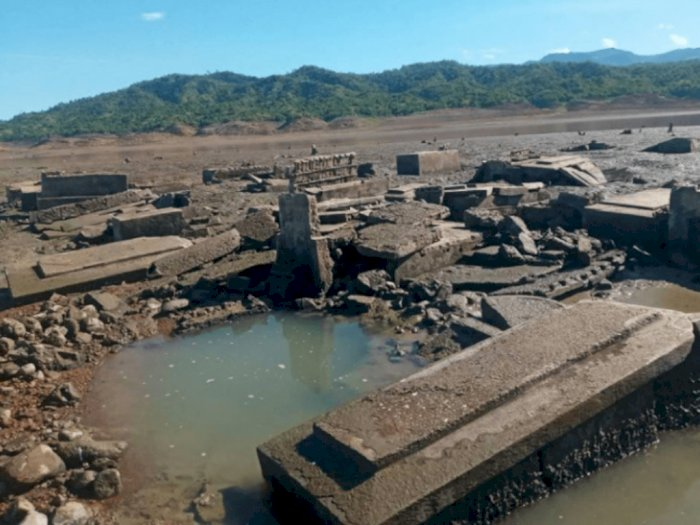 Old Pantabangan, Kota yang Pernah Tenggelam di Filipina Kini Timbul Lagi