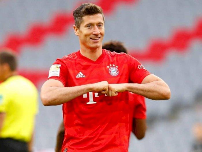 Pernah Nyaris Berkostum Real Madrid, Lewandowski: Saya Bahagia di Bayern Munchen