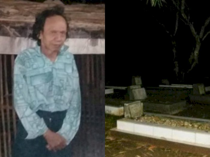 Kisah Lelaki Tua Sebatang Kara Terpaksa Tinggal di Kuburan, Rumah Terbakar 21 Tahun Silam