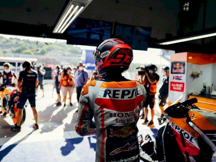 Marc Marquez Kembali Jalani Operasi Usai Nekat Tampil di MotoGP Andalusia 2020