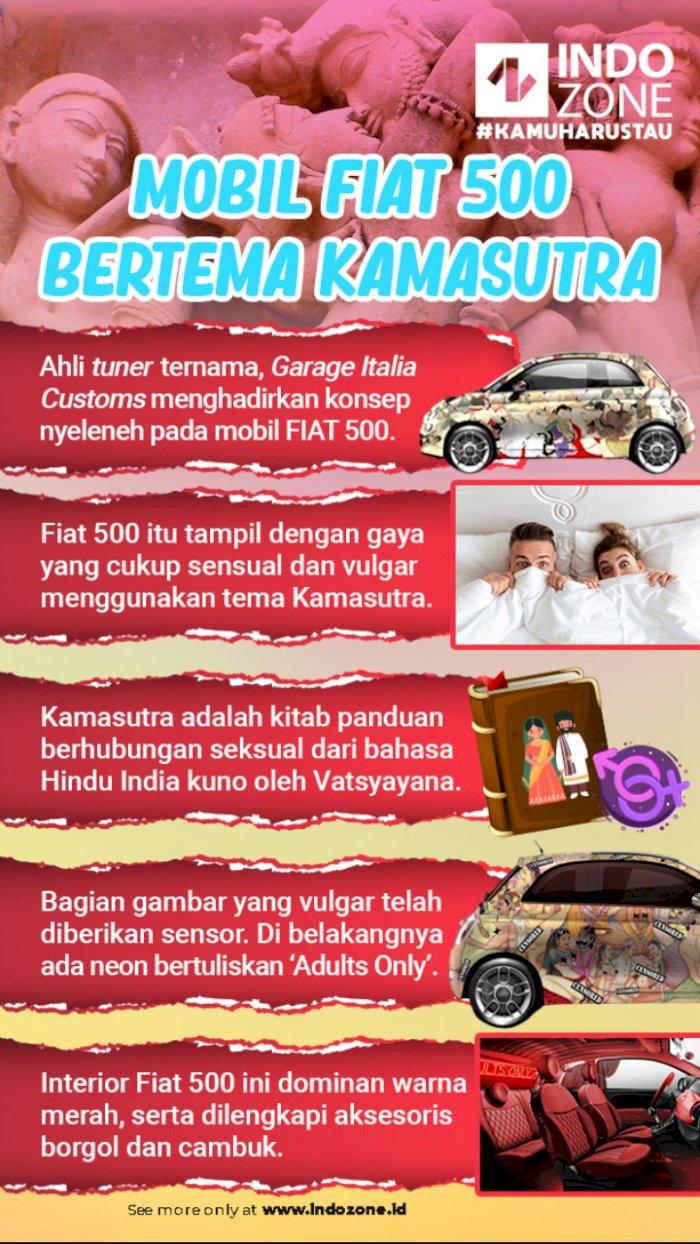 Mobil Fiat 500 Bertema Kamasutra