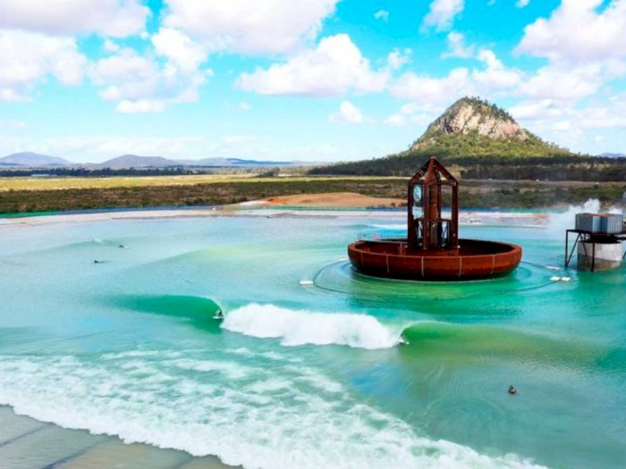 Ini Dia Surf Lakes, Kolam Renang dengan Ombak Laut di Australia