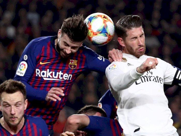 Oscar Ruggeri: Ramos Bek Terbaik Dunia, Sedangkan Pique Pemain Biasa