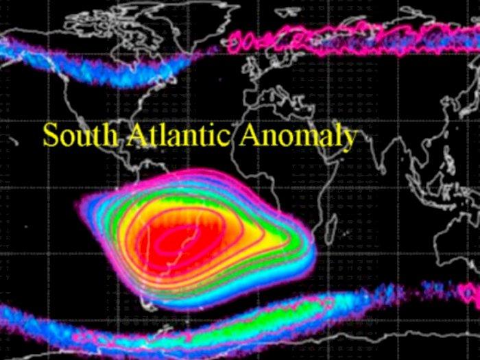 South Atlantic Anomaly, Kawasan Misterius Segitiga Bermuda di Angkasa