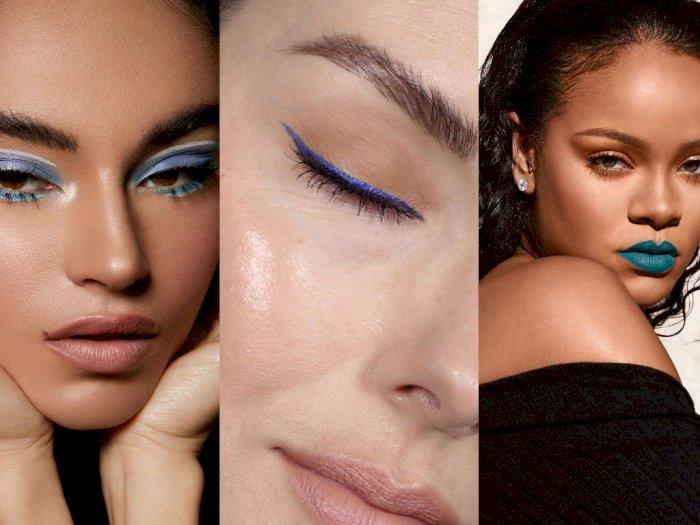 Tips Aplikasikan Warna Biru pada Riasan Kamu Bikin Penampilan Berbeda
