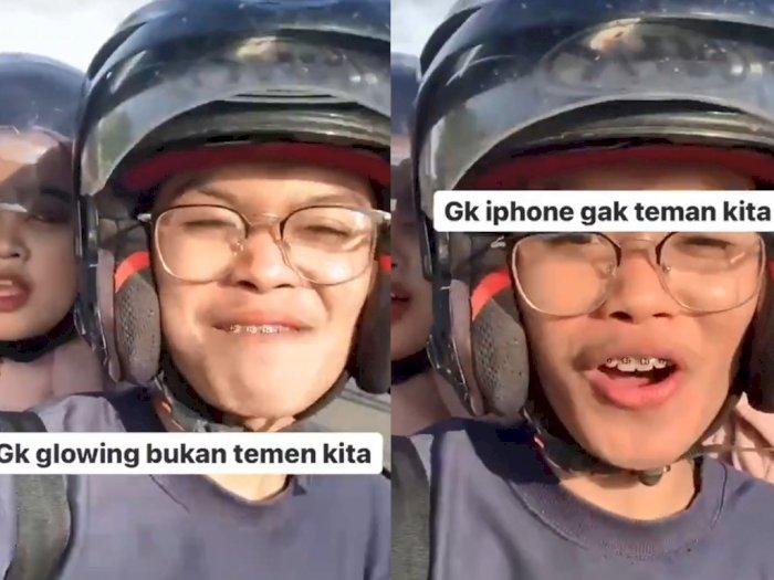 Pria dan Wanita Ini Enggan Berteman dengan Orang yang Tak Pakai iPhone, Netizen: Sombong!