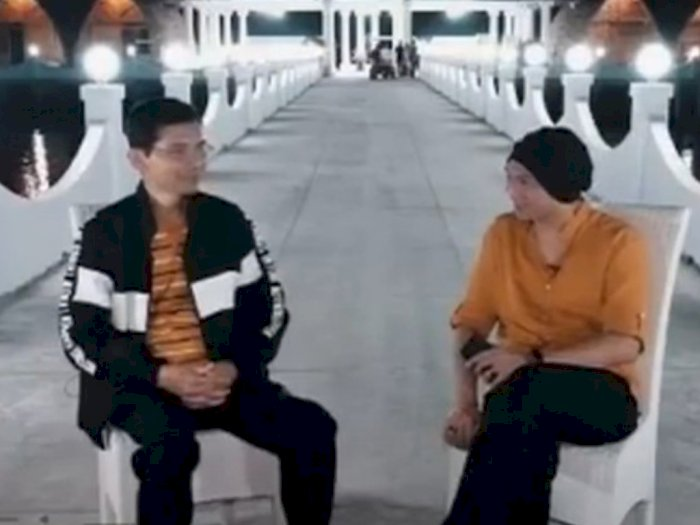 Anji Angkat Bicara Soal Video 'Obat Corona' dengan Hadi Pranoto yang Sudah Dicabut Youtube