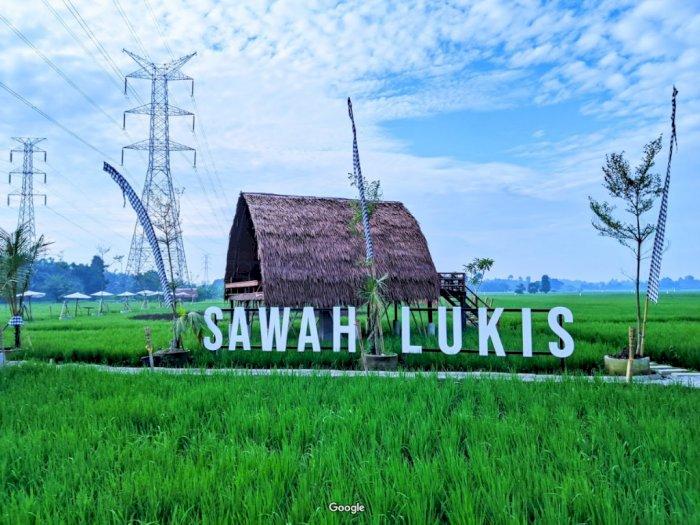 Daya Tarik di Sawah Lukis Binjai, Cocok Untuk  Foto Instagram!