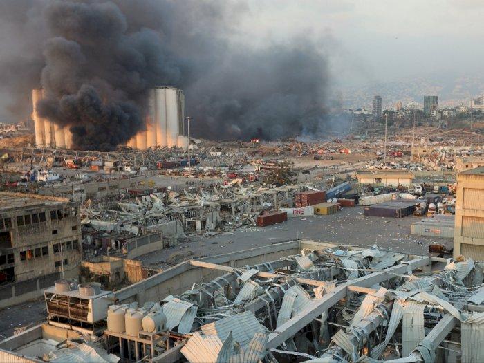 Ledakan di Beirut, Sedikitnya 10 Orang Tewas