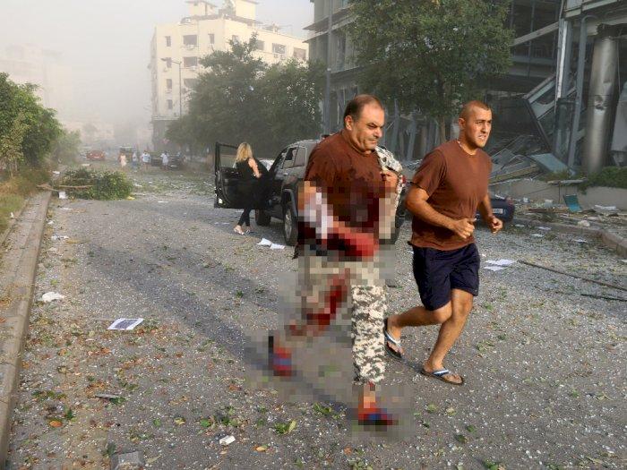 Kondisi Mencekam Pascaledakan di Lebanon, Orang Berlarian hingga Mayat Bergelimpangan