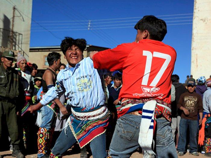Pertempuran Tinku, Tradisi Baku Hantam di Bolivia
