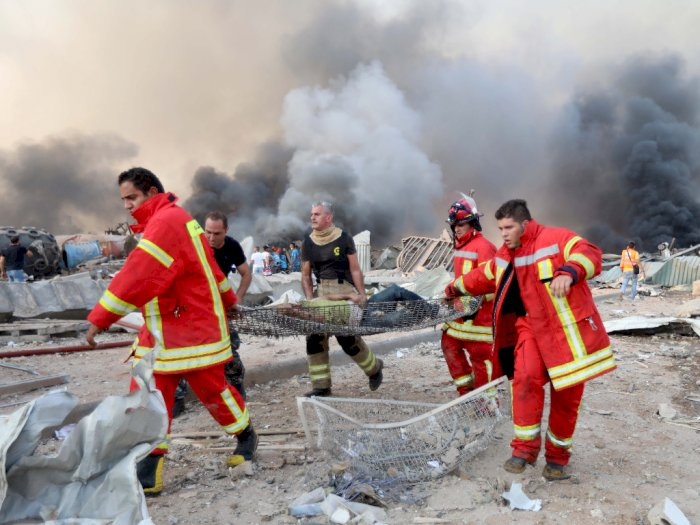 Satu WNI Jadi Korban Ledakan di Beirut Lebanon, Begini Kondisinya