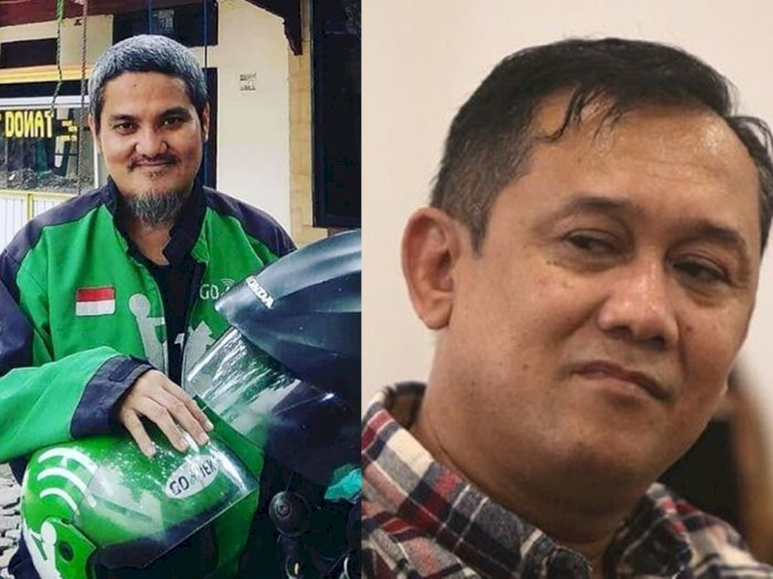 Pakai Seragam Ojek Online, Denny Siregar Sindir Jonru Ginting, 'Cancel Order'