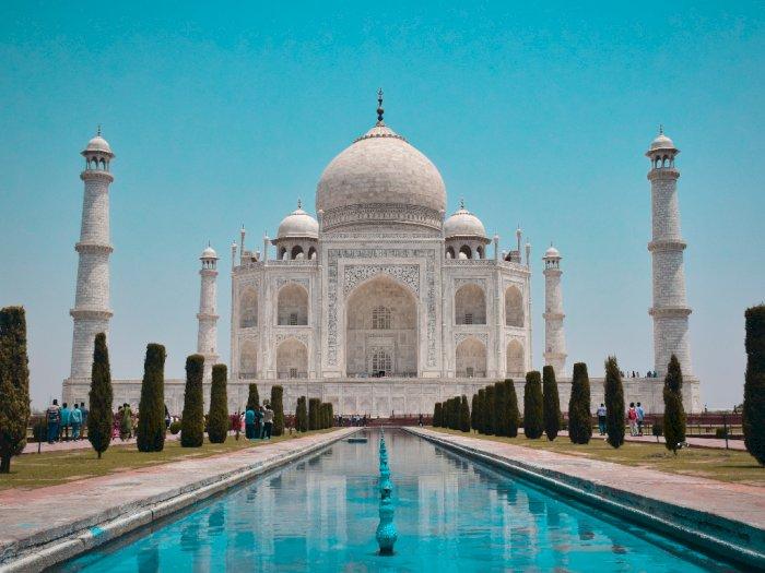 Agra Belum Siap Terima Turis, Taj Mahal Masih Ditutup