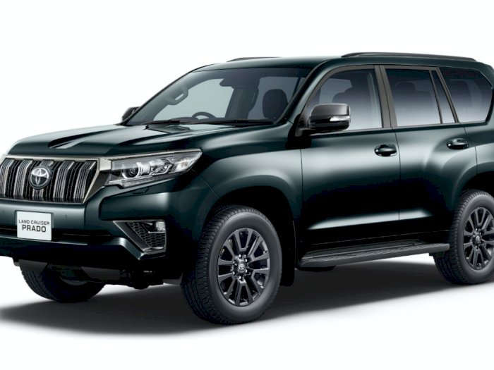 Hadir dalam 2 Varian, Ini Spesifikasi Land Cruiser Prado Facelift dan 'Black Edition'!