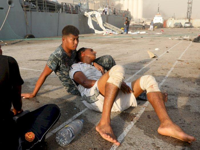 Penampakan Pascaledakan di Lebanon, Suasana Mencekam hingga Orang Terkapar di Jalanan