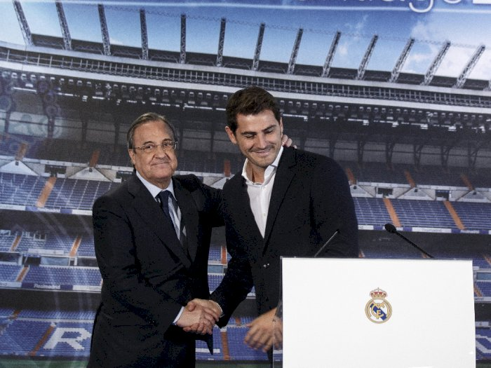 Iker Casillas Pensiun, Florentino Perez: Real Madrid Rumah Casillas