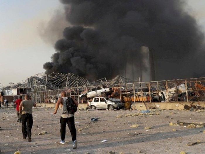 Bunuh 100 Jiwa dan Lukai Ribuan Orang, Benarkah Israel di Balik Ledakan Beirut Lebanon?