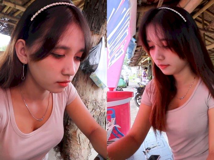 Penjual Es Dawet Ini Disebut Miliki Rupa Bak Model, Netizen: Auto Diabetes!