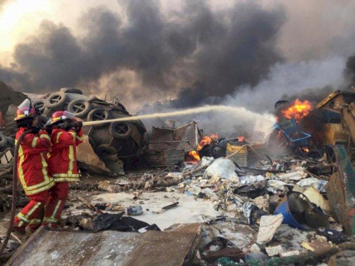 Update WNI Korban Ledakan di Beirut, Jubir Kemenlu: Sudah Dipulangkan ke Rumahnya