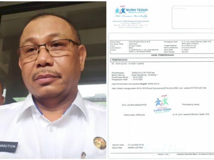 Plt Wali Kota Medan Positif COVID-19, Ini Riwayat Perjalanannya Sebelum Dirawat di RS