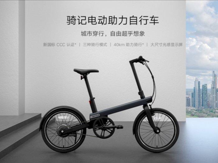 Xiaomi Luncurkan Sepeda Listrik Baru dengan Jarak Tempuh Hingga 40 km!