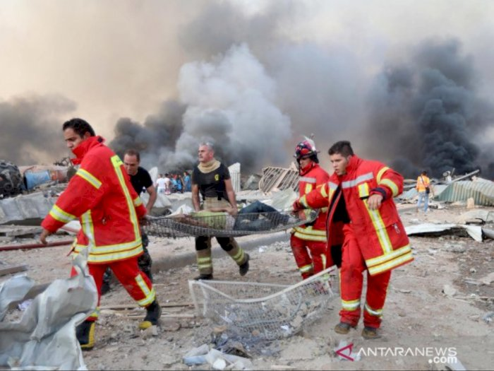 Korban Ledakan di Beirut Lebanon Bertambah Jadi 78, Donald Trump: Itu Serangan Bom