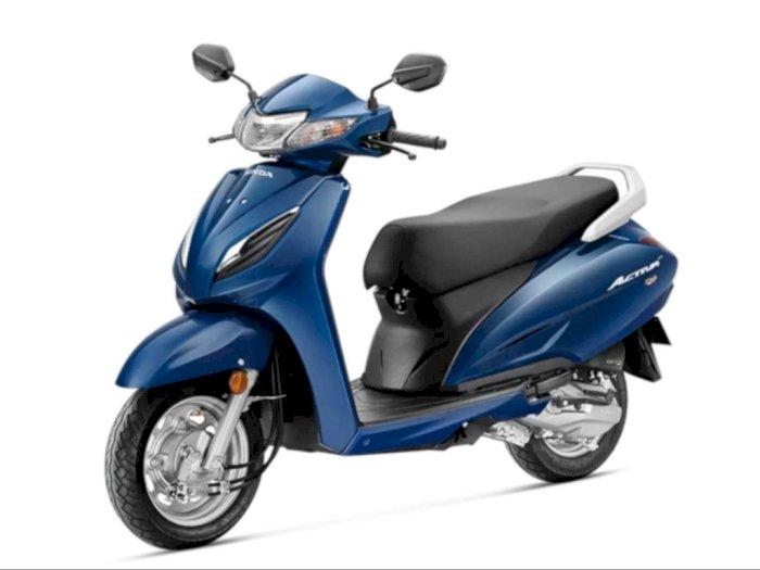Penjualan Melorot, Honda Hadirkan Skuter Bongsor Baru