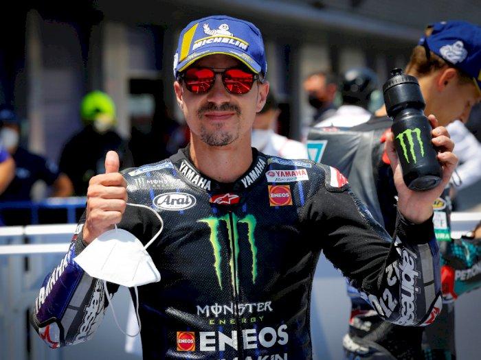Percaya Diri,Maverick Vinales Ngaku Yakin Raih Hasil Positif pada MotoGP Ceko 2020