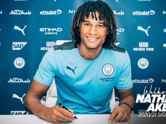 Resmi! Nathan Ake Gabung ke Manchester City